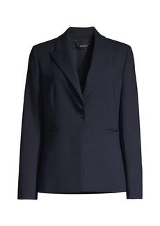 Elie Tahari Limani Single-Button Blazer