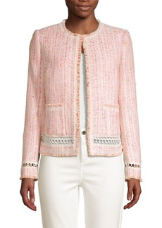 Elie Tahari Liri Tweed Jacket