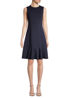 Elie Tahari Lizzie Seamed Dress