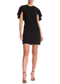 Elie Tahari Lolly Cap Sleeve Mini Dress