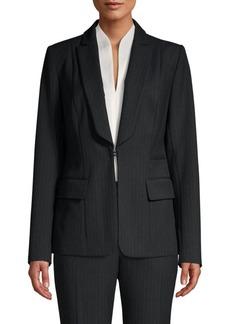 Elie Tahari Lorelei Pinstripe Jacket