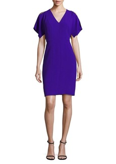 Elie Tahari Lourdes Cold-Shoulder Dress