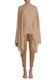 Elie Tahari Lovell Merino Wool Wrap Sweater