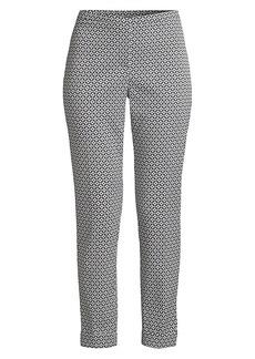 Elie Tahari Marcia Boho-Print Pants