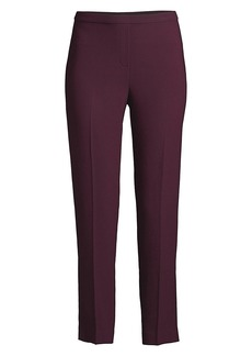 Elie Tahari Marcia Fluid Crepe Tapered Pants