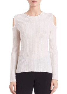 Elie Tahari Marlah Cold-Shoulder Top