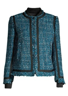 Elie Tahari Mennat Tweed Jacket