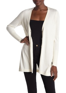 Elie Tahari Monique Silk Blend Cardigan