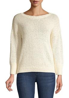 Elie Tahari Monroe Hemp-Blend Sweater