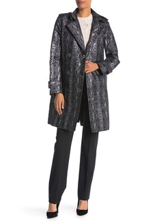 1ca26615cae0 SALE! Elie Tahari Elie Tahari Christina Contrast-Trim Wool Coat