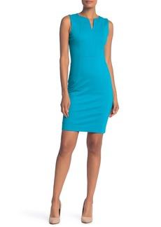 Elie Tahari Natanya Split Collar Dress