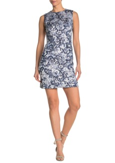 Elie Tahari Odette Jacquard Mini Dress