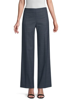 Elie Tahari Odette Plaid Suiting Pants