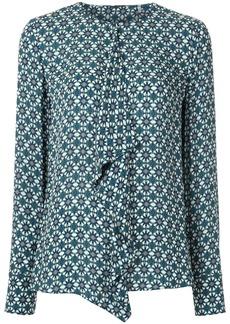 Elie Tahari Pernilla draped detail blouse
