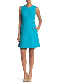 Elie Tahari Peyton Fit & Flare Dress