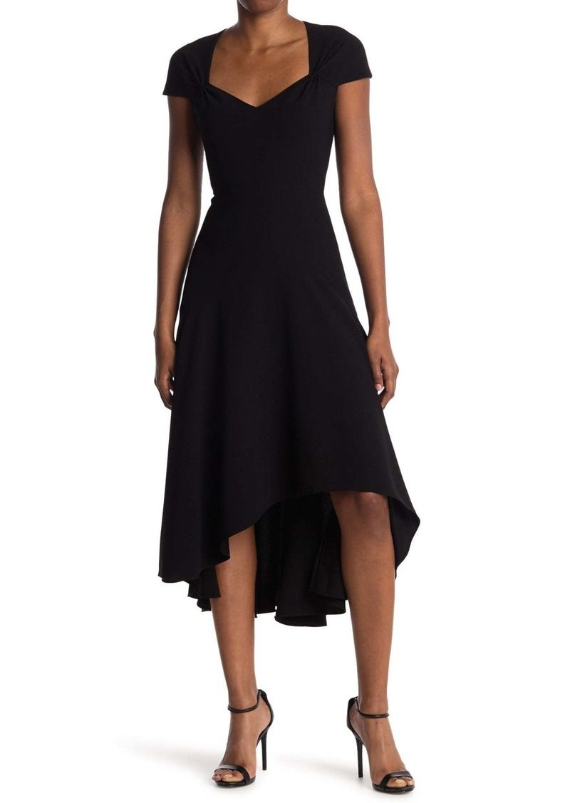 Elie Tahari Phoenix High/Low Midi Dress