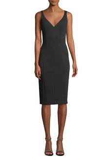 Elie Tahari Reanna Sleeveless Sheath Dress