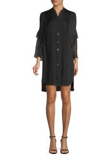 Elie Tahari Sawyer Silk High-Low Dress