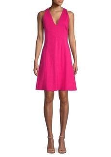 Elie Tahari Selene A-Line Dress