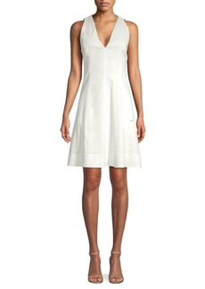 Elie Tahari Selene Fit-&-Flare Dress