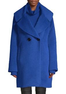 Elie Tahari Shiloh Wool & Alpaca Blend Coat
