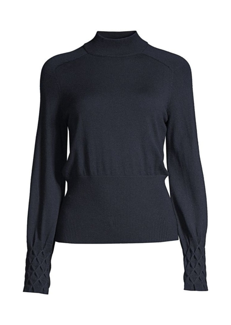 Elie Tahari Skylar Knit Merino Wool Sweater