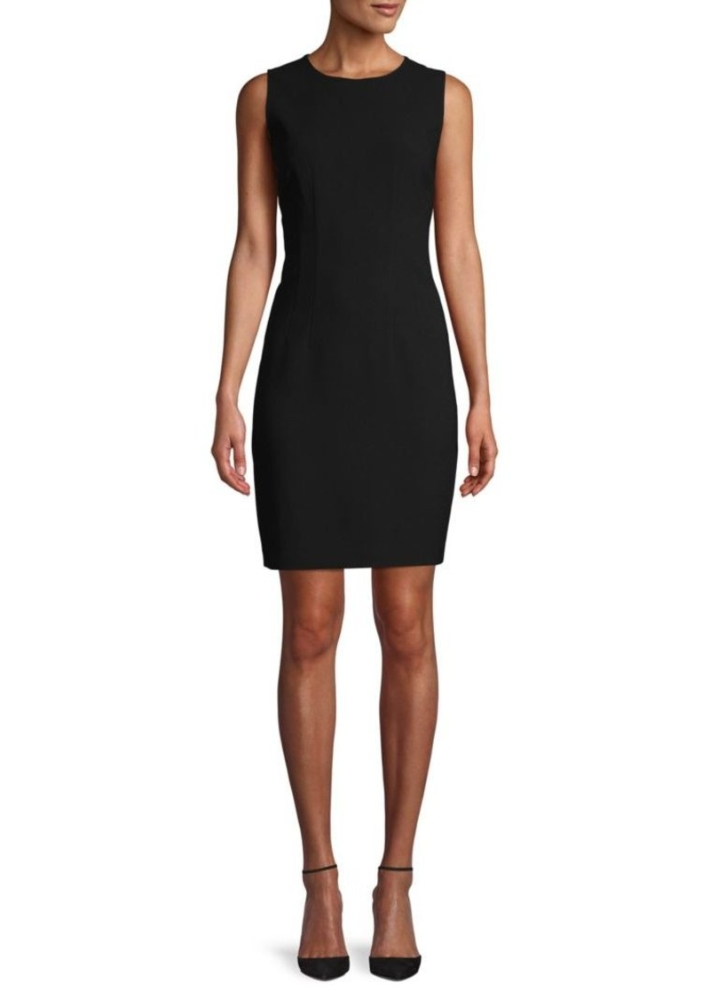 Elie Tahari Sleeveless Sheath Dress
