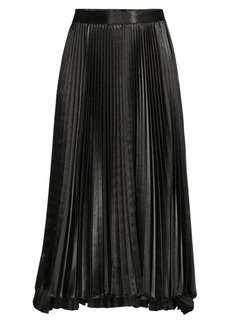 Elie Tahari Sue Pleated Skirt