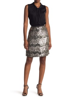 Elie Tahari Embellished Skirt
