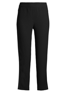 Elie Tahari Willa Crop Straight-Leg Pants