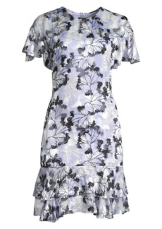 Elie Tahari Yonica Floral Dress