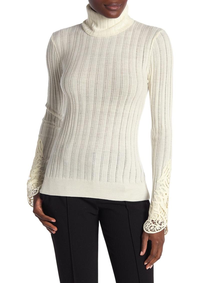 Elie Tahari Zoelle Wool Sweater