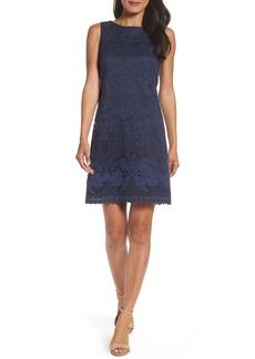 Eliza J Lace A-Line Minidress (Regular & Petite)