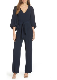 Eliza J Balloon Sleeve Jumpsuit