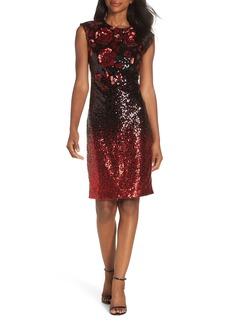 Eliza J Body-Con Midi Dress
