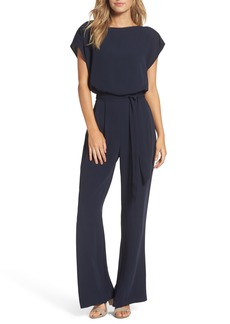 Eliza J Cap Sleeve Jumpsuit