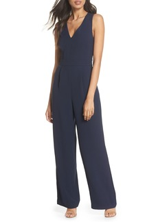 Eliza J Cutout Back Jumpsuit