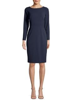 Eliza J Embellished Knee-Length Dress
