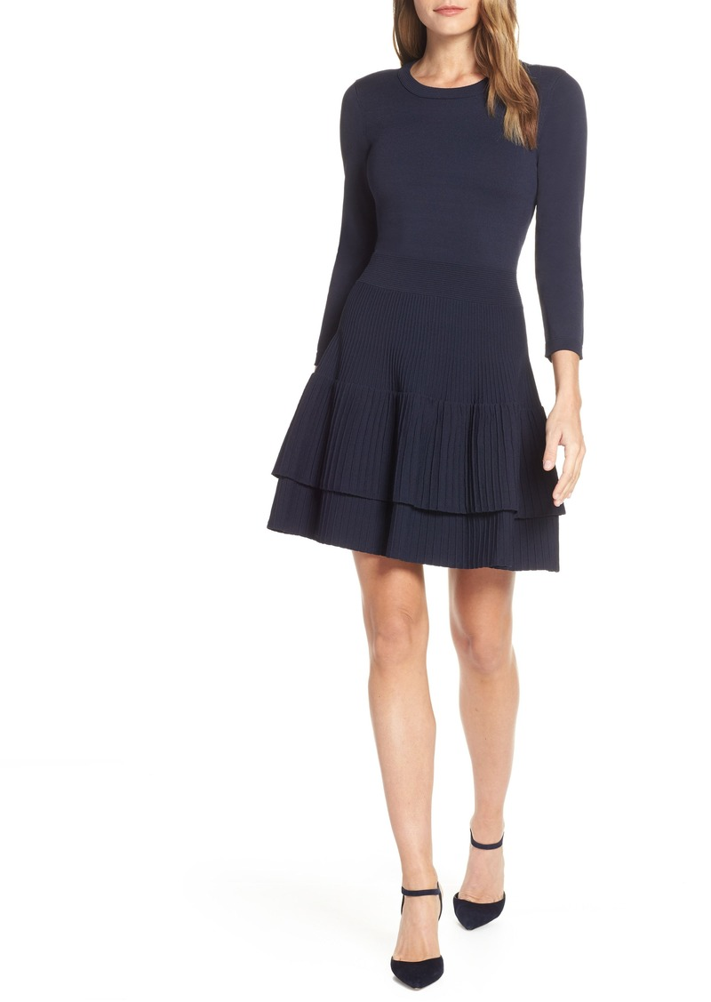 f86681d4c4d Eliza J Eliza J Fit   Flare Sweater Dress