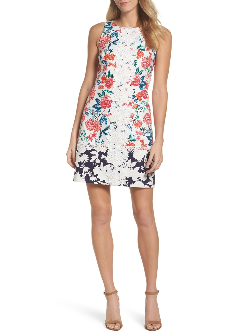 cc17275e Eliza J Eliza J Floral Print Shift Dress (Regular & Petite) | Dresses
