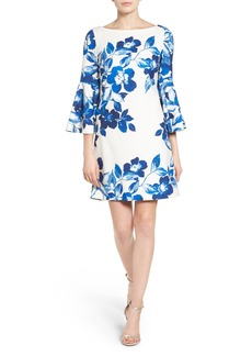 Eliza J Floral Shift Dress (Regular & Petite)