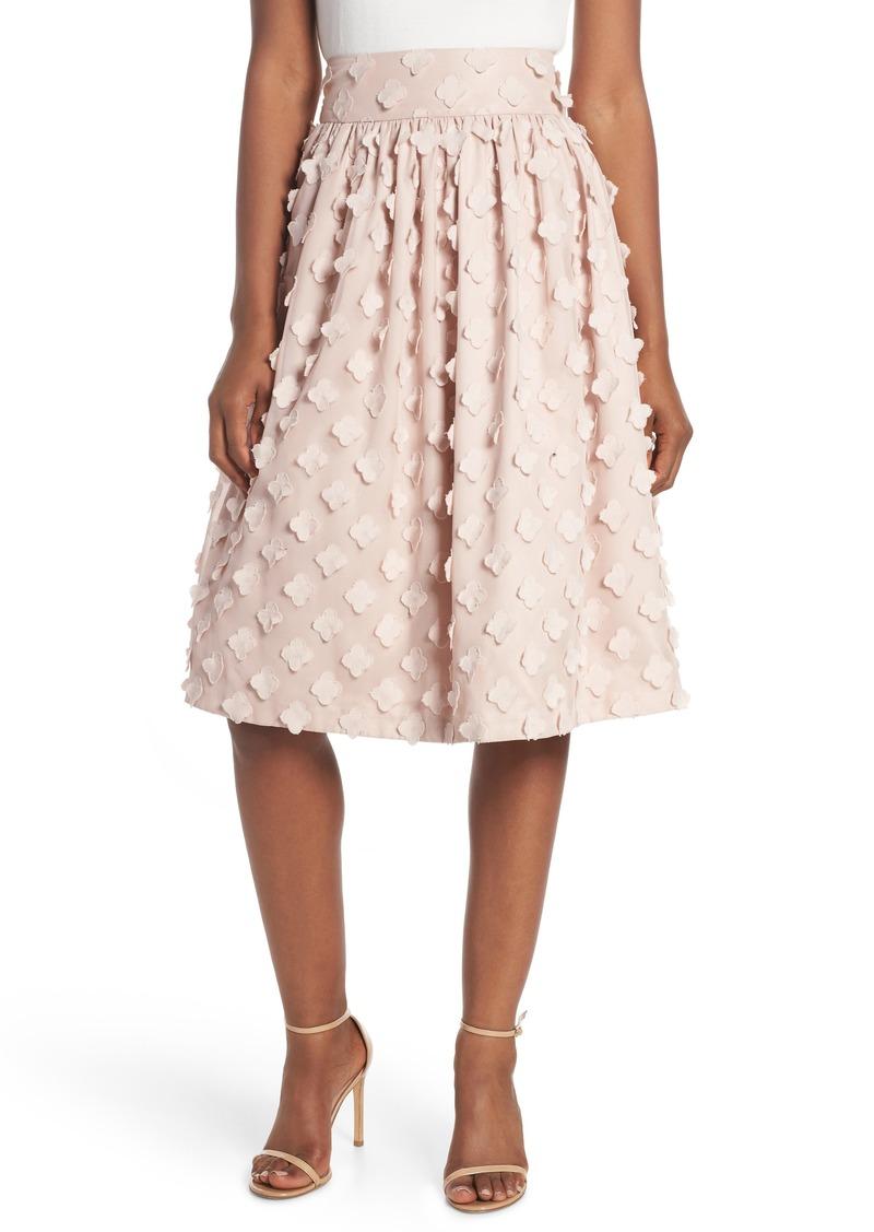 251aa4b151dec Eliza J Eliza J Flower Texture Gathered Skirt