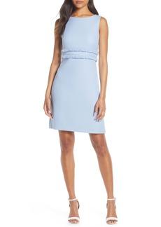 Eliza J Fringe Sleeveless Sheath Dress (Regular & Petite)