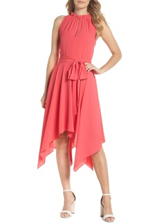 Eliza J Handkerchief Hem Dress