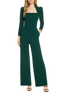 Eliza J Long Sleeve Jumpsuit
