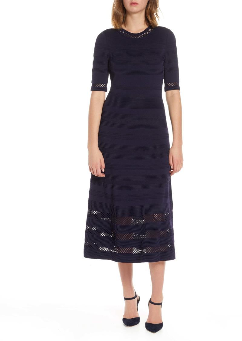 Eliza J Midi Sweater Dress