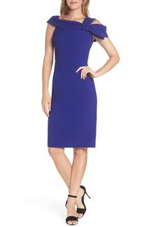 Eliza J One Strap Cold-Shoulder Dress (Regular & Petite)