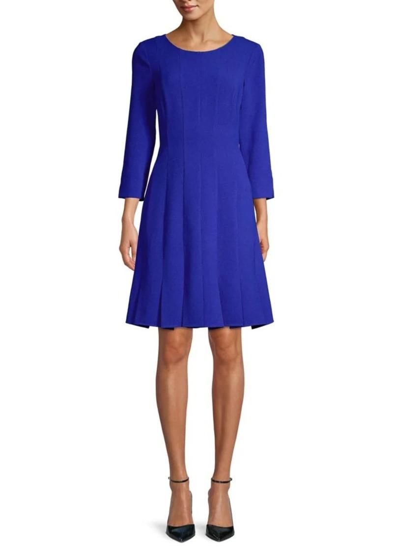 Eliza J Roundneck Mini Dress