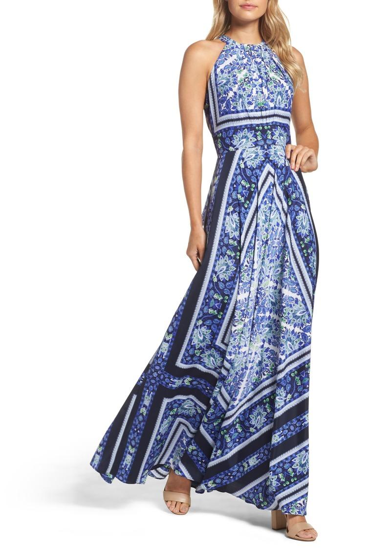 95aec1d5823 Eliza J Eliza J Scarf Print Maxi Dress (Regular   Petite)