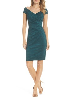Eliza J Taffeta Body-Con Dress (Regular & Petite)